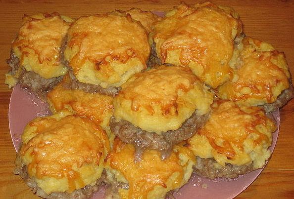 тефтели в духовке с сыром рецепт с фото