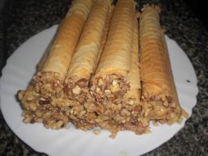 Вафельные трубочки мамина кухня