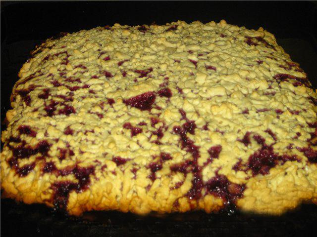 Пирог из песочного теста Кучерявый