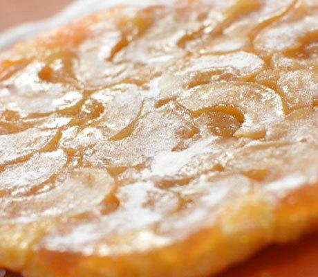 Быстрый пирог - перевертыш с яблоками
