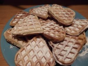 Песочное печенье на сковородке