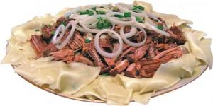 Бешбармак - мясо по - казахски