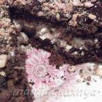 Шоколадный торт с мягким кофейным кремом
