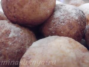 Шанежки или пончики творожные