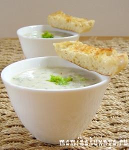 Сливочный суп пюре из брокколи